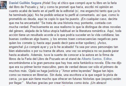 La opnión de Daniel Guillén